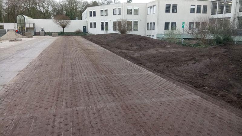 Aanleg parkeerplaats HAN Nijmegen | Hooijer Wegenbouw